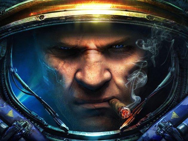 Počítačová hra StarCraft 2: Heart of the Swarm.