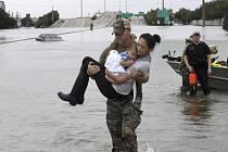 Záplavy v Houstonu