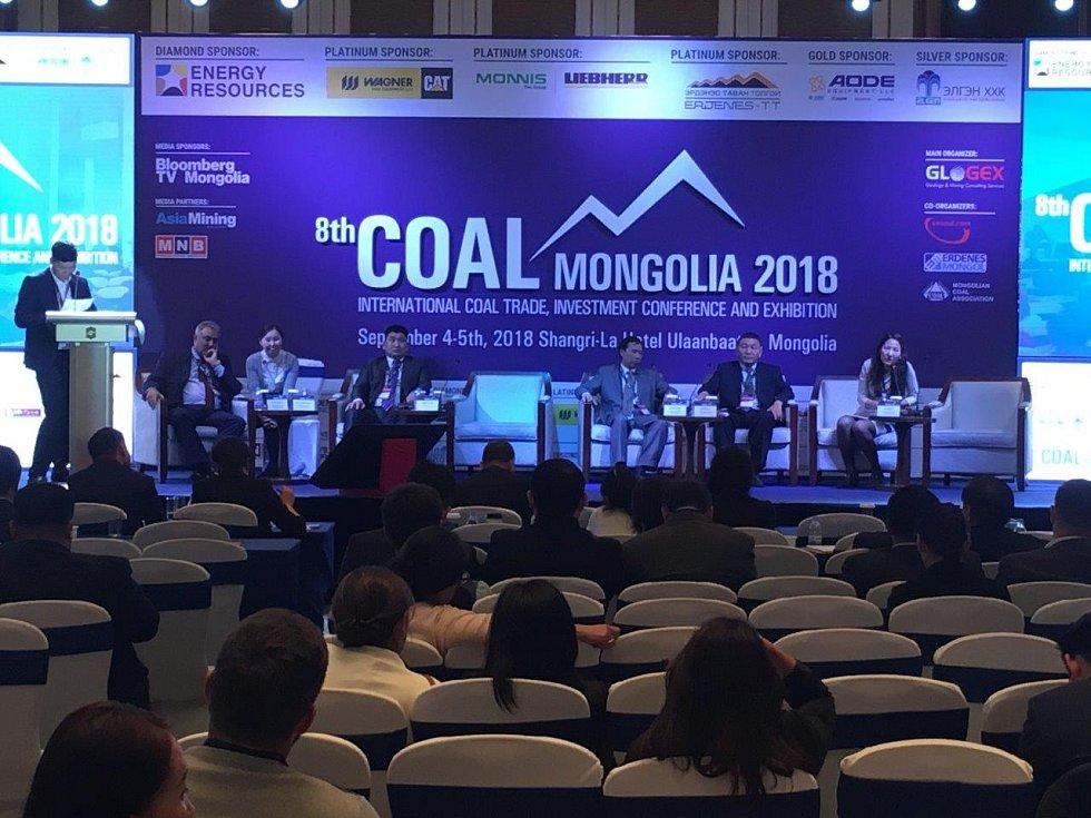 Konference Coal Mongolia v roce 2018