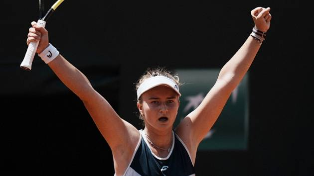 Barbora Krejčíková ve čtvrtfinále Roland Garros porazila Cori Gauffovou.