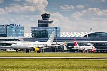 Letiště Václava Havla. Ilustrační foto