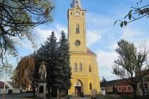 Moravský Písek, farní kostel sv. Anny