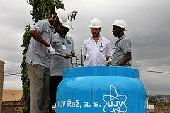 Čeští jaderní experti v Africe