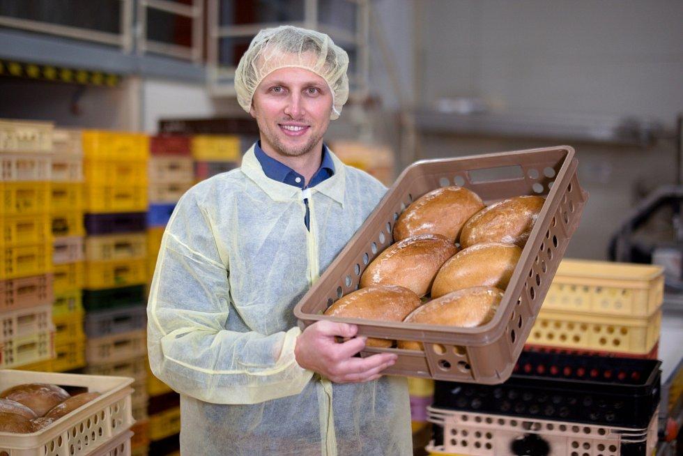 Štěpán Malena. Z brigádníka se stal šéf vyhlášené rodinné pekárny.