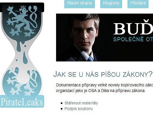 Byla spuštěna webová stránka PirateLeaks.cz, kam mohou lidé zasílat například dokumenty o podezřelých zakázkách na ministerstvech nebo radnicích.