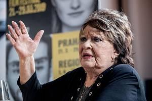 Herečka Jiřina Bohdalová slaví 90. narozeniny.