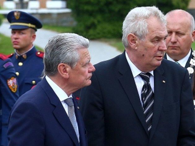 Německý prezident Joachim Gauck dnes končí státní návštěvu České republiky.
