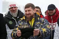 Nový skiareál v Čečenském Veduči otevíral tamní vůdce Ramzan Kadyrov