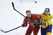 Zleva Nikita Gusev z Ruska a Jacob de la Rose ze Švédska.