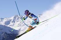 Lyžařka Šárka Strachová dojela na svém posledním mistrovství světa ve Svatém Mořici ve slalomu na pátém místě.