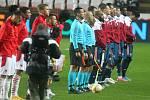 UEFA Evropská liga - čtvrtfinálový zápas SK Slavia - Arsenal