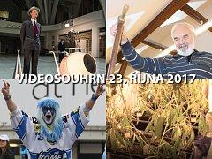 Videosouhrn Deníku – 22.–23. října 2017