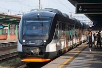 Modernizovaná vlaková jednotka Alstom dopravce Leo Express.