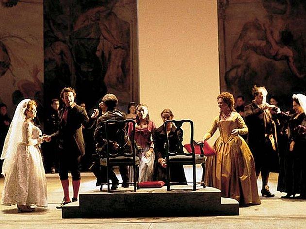 Figarova svatba v podání španělského Real de Madrid Teatro.