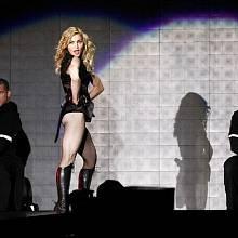 Madonna v Praze
