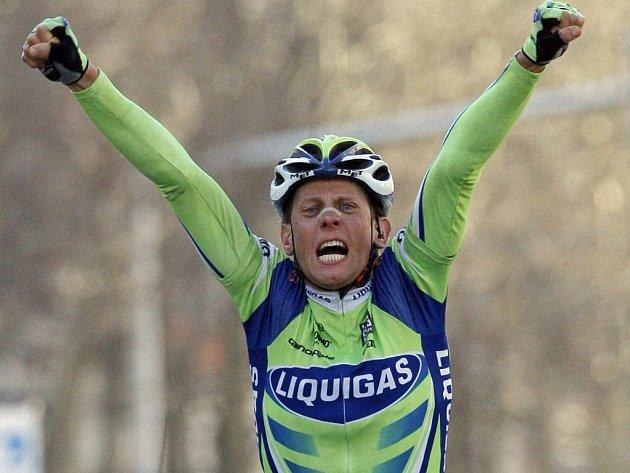 Kjell Carlström byl první v cíli třetí etapy závodu Paříž - Nice.