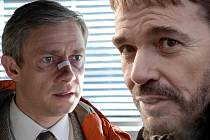 Martin Freeman (vlevo) jako Lester Nygaard.
