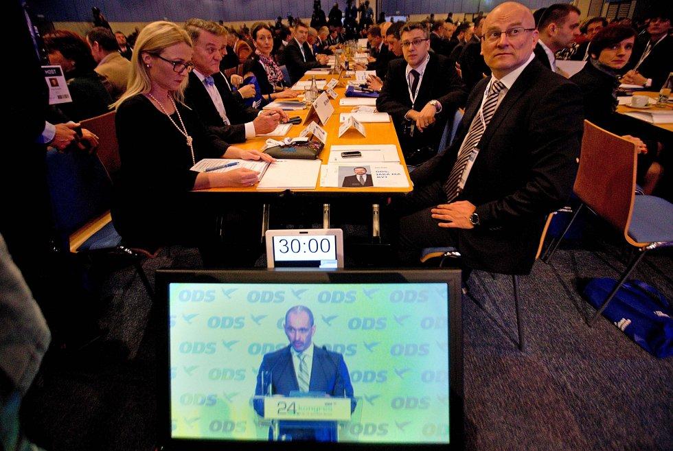 24. kongres ODS, sobota 18. ledna 2014