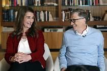 Bill a Melinda Gatesovi na snímku z 1. února 2019