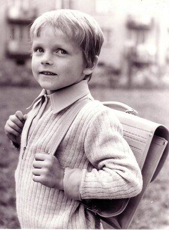 MICHAL NOVOTNÝ, Jičín 1976: Jdu do školy.