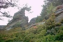 Vysoký Kámen, nejvyšší vrchol oblasti