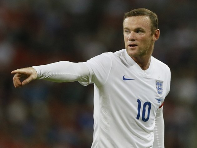 Kanonýr Anglie Wayne Rooney.