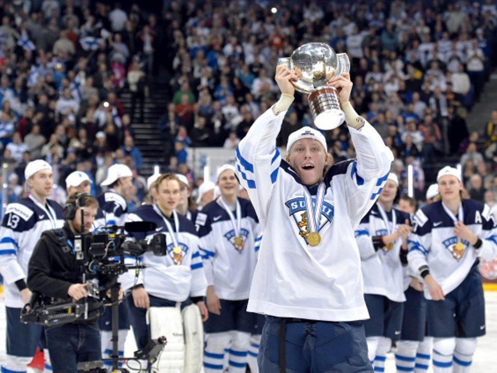 Hokejisté Finska ovládli mistrovství světa dvacítek.