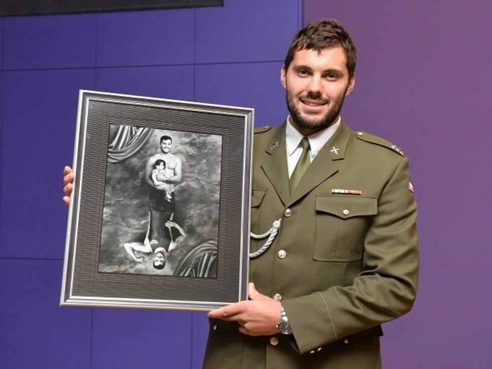 Olympijský medailista kajakář Josef Dostál.