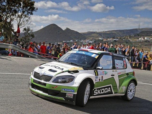Jan Kopecký na Rallye Kanárské ostrovy.