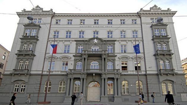 Sídlo Nejvyššího správního soudu na brněnském Moravském náměstí.
