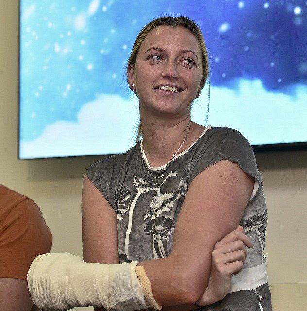 Petra Kvitová poprvé veřejně promluvila o napadení.