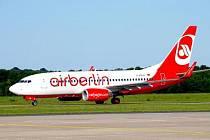Letadlo společnosti Air Berlin. Ilustrační foto