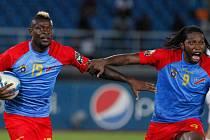 Fotbalisté Demokratické republiky Kongo se radují