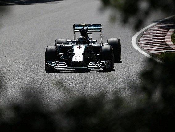 F1 v Montrealu: Nico Rosberg