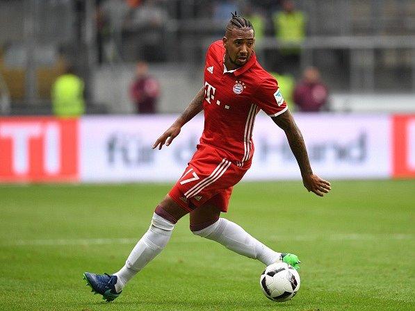 Jérome Boateng v dresu Bayernu Mnichov.