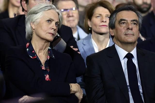 François Fillon s manželkou Penelope.