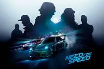Počítačová hra Need for Speed.