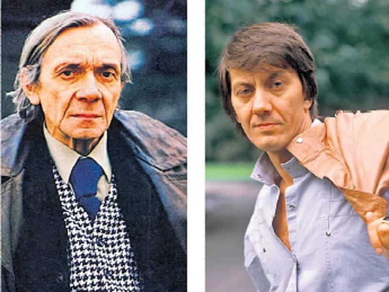 DVĚ LEGENDY. Josef Kemr a Boris Rösner na snímcích z roku 1986.