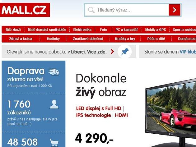 Internetový obchod Mall.cz