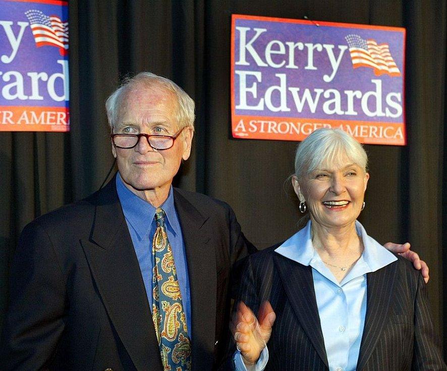 Paul Newman s manželkou Joanne Woodwardovou, s níž strávil padesát let