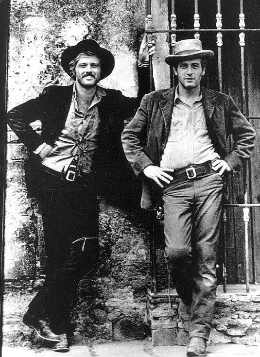 Robert Redford a Paul Newman ve slavném snímku Butch Cassidy a Sundance Kid