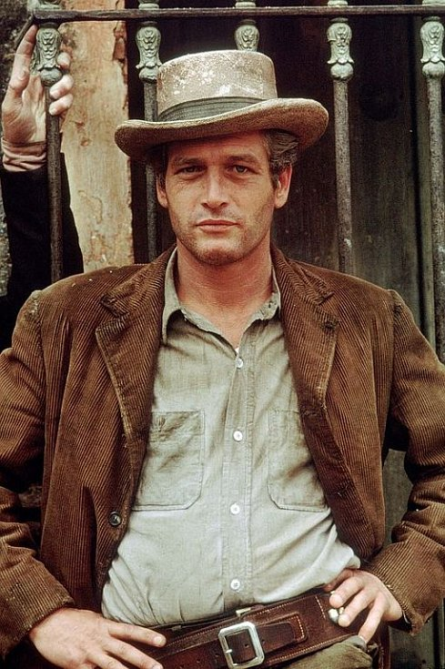 Paul Newman ve slavném snímku Butch Cassidy a Sundance Kid