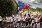 Olympijské festivaly v Praze a Brně