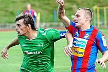 Fotbalisté Plzně v západočeském derby zdolali Karlovy Vary.