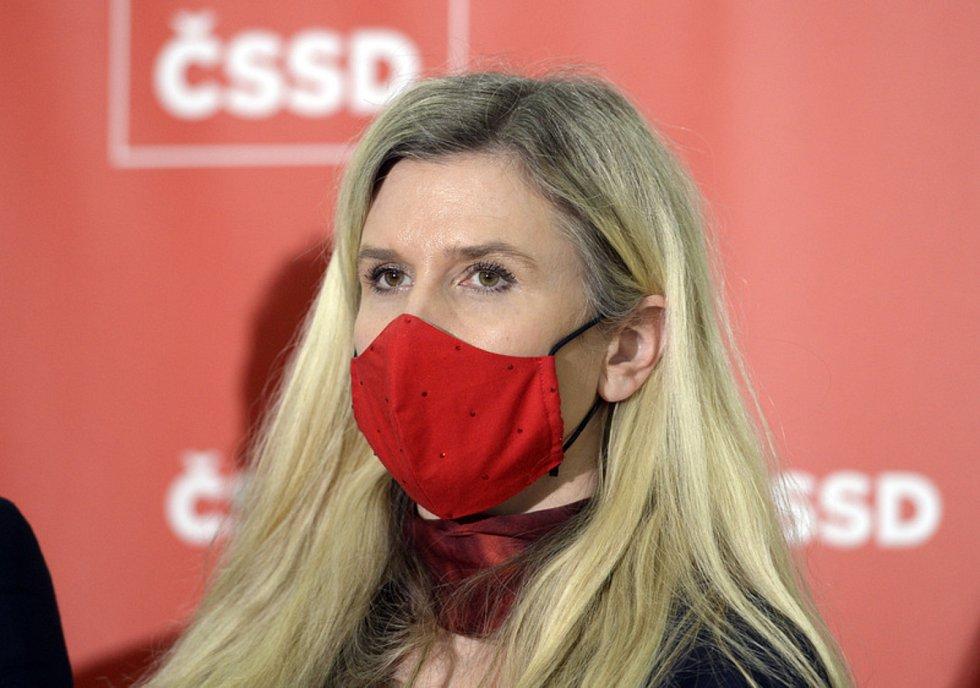 Místopředsedkyně poslaneckého klubu ČSSD Kateřina Valachová