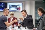 Předvolební Deníku probíhala 19. října v Aviatice: Karla Šlechtová, Tomio Okamura,  Jiří Dolejš