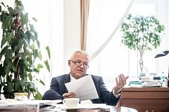Jaroslav Faltýnek poskytl 28. března v Praze rozhovor Deníku.
