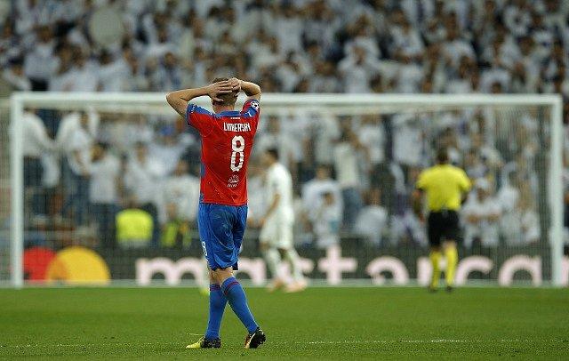Real Madrid – FC Viktoria Plzeň. David Limberský.