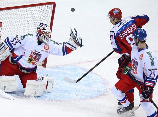Vadim Šipačov a jeho snaha o střelu