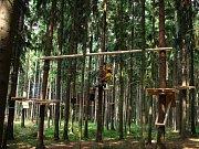 Veverák - Lanový park Olomouc
